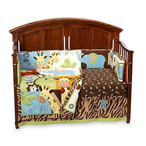 TOO GOOD™ by Jenny McCarthy Zoo Zoo 5-Piece Crib Bedding