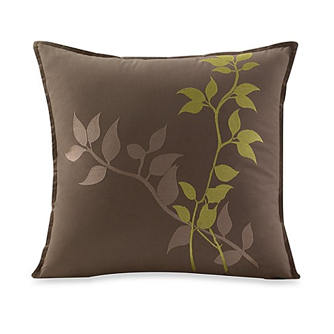Ivy 17-Inch Square Throw Pillow