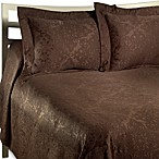 Venice Full Bedspread Set in Chocolate