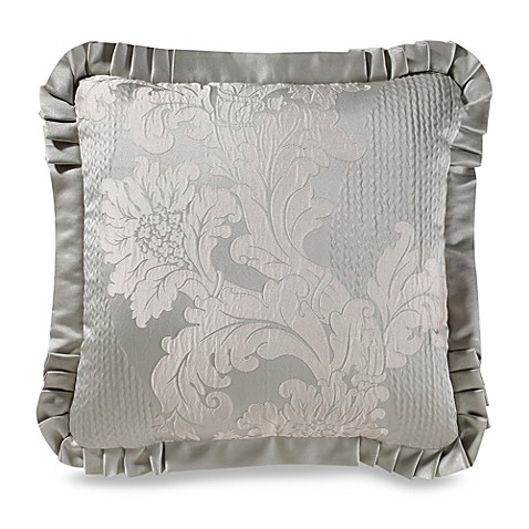 J. Queen New York™ Anastasia Aqua 20-Inch Square Throw Pillow