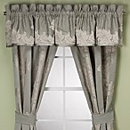 Anastasia Aqua Window Valance