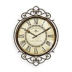 Flourish Wire Wall Clock
