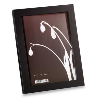 Soho Wood 5-Inch x 7-Inch Photo Frames (Set of 4)