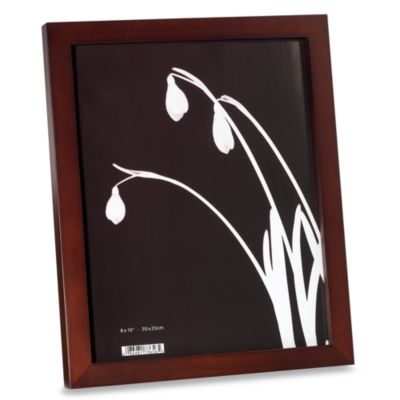 Soho Wood 8-Inch x 10-Inch Photo Frames (Set of 2)