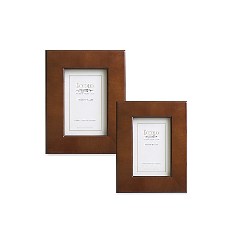 Eccolo™ Brown Wide Border Frame