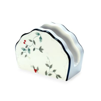 Pfaltzgraff® Winterberry Napkin Holder