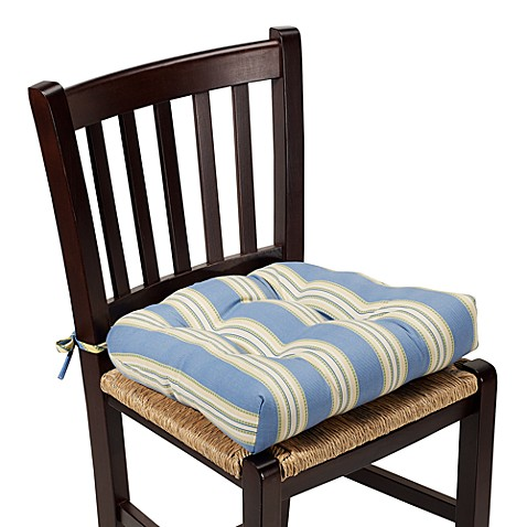 Lisa Chairpad in Blue Stripe