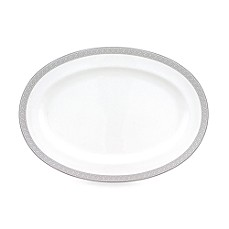 Nikko Greek Key Fine Bone China Oval Platter
