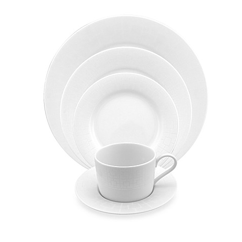 Nikko Fretwork Fine Porcelain 5-Piece Place Setting