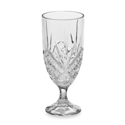Godinger Dublin 14-Ounce Crystal Iced Beverage Glasses (Set of 4)