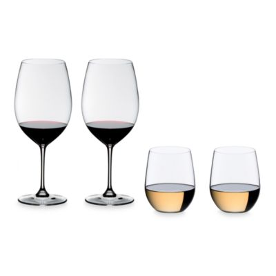 Riedel® Vinum XL Cabernet Stem and Stemless Glasses (Set of 4)