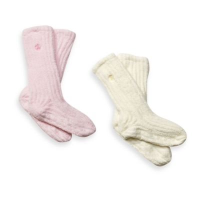 Dream Silk™ Cozy Socks™ in Cream