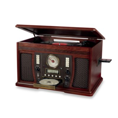 Turntable CD Player Recorder