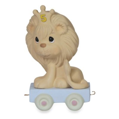Precious Moments® Birthday Train Porcelain Figurine in Age 5