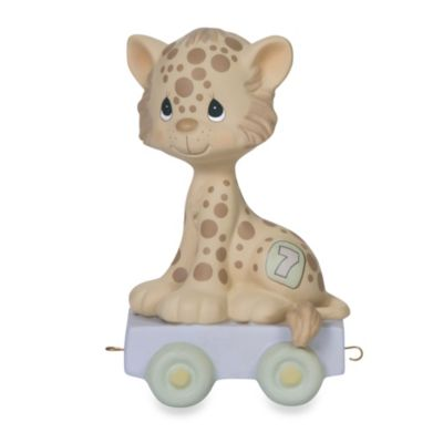 Precious Moments® Birthday Train Porcelain Figurine in Age 7
