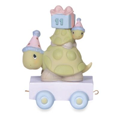 Precious Moments® Birthday Train Porcelain Figurine in Age 11