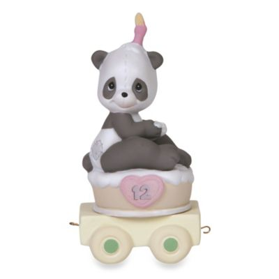 Precious Moments® Birthday Train Porcelain Figurine in Age 12