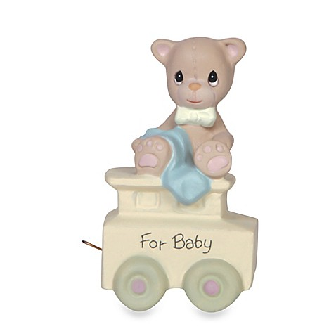 Precious Moments® Birthday Train Porcelain Figurine in Baby