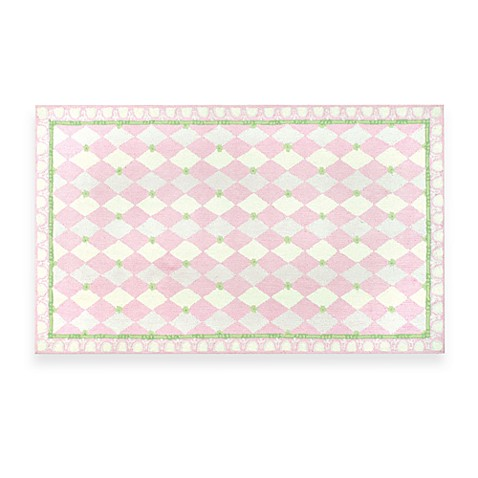 Harlequin 2-Foot 8-Inch x 4-Foot 8-Inch Rug in Pink