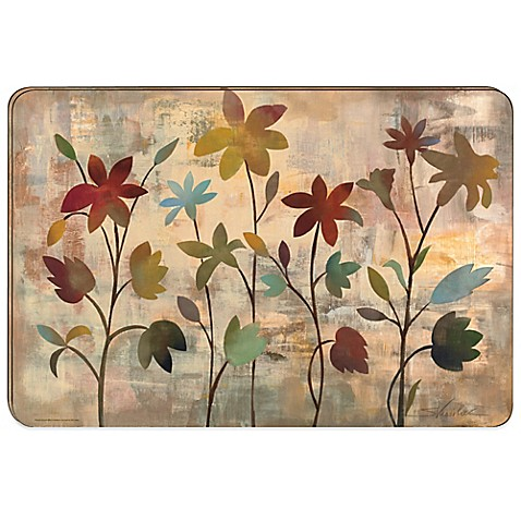 Buy Rainbow Garden Hard Backed Placemats Set Of 2 From