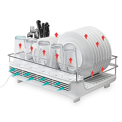 Bon Home Heat And Dry Electric Dish Rack Bed Bath Amp Beyond