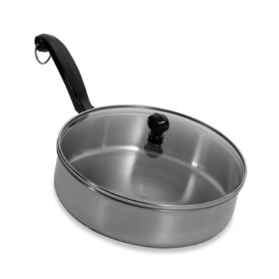 Farberware® Classic Series II Stainless Steel 3-Quart Covered Saute Pan