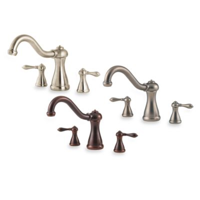 Price Pfister® Marielle Tub and Shower Faucet Set-Up in Pewter