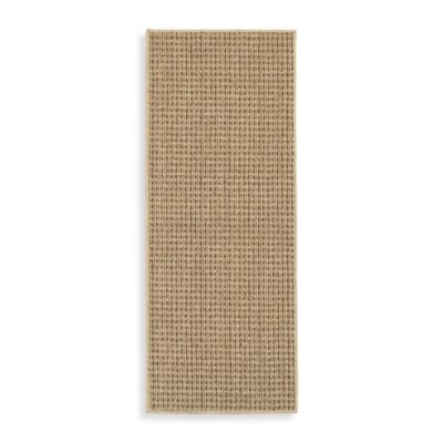 Berber Striped 5-Foot x 7-Foot Room Size Rug in Biscuit