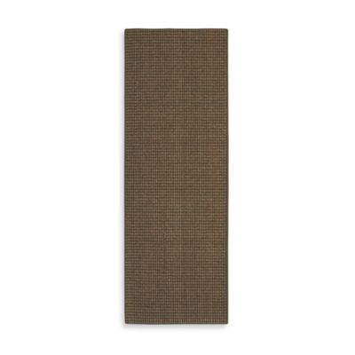 Berber Striped Accent Rug in Olive