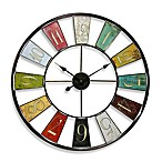 Kaleidoscope 32-Inch Wall Clock