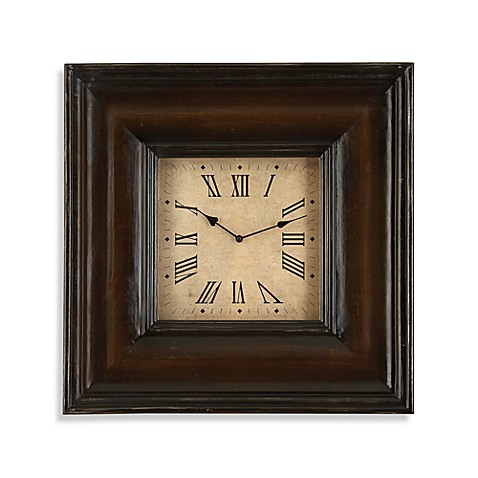 Square Wood Wall Clock Bed Bath Beyond