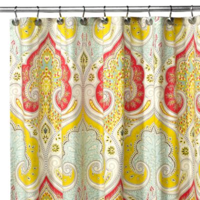 Echo Design™ Jaipur 54-Inch x 78-Inch Stall Shower Curtain