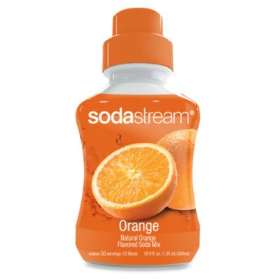 SodaStream Orange Sodamix Flavor