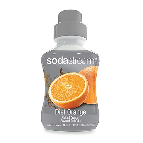 SodaStream Diet Orange Sparkling Drink Mix