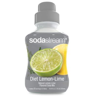 SodaStream Diet Lemon-Lime Sodamix Flavor