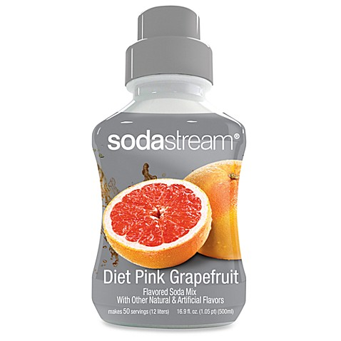 SodaStream Diet Pink Grapefruit Sparkling Drink Mix
