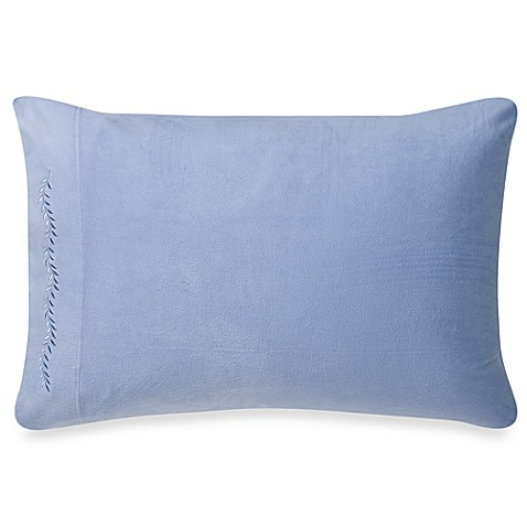 Microloft Standard Pillowcases in Delph Blue (Set of 2)