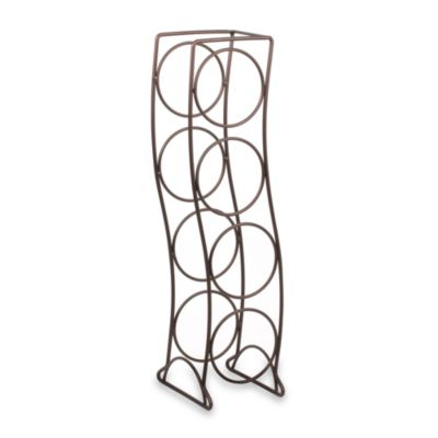 Spectrum Curve 4-Bottle Wine Rack