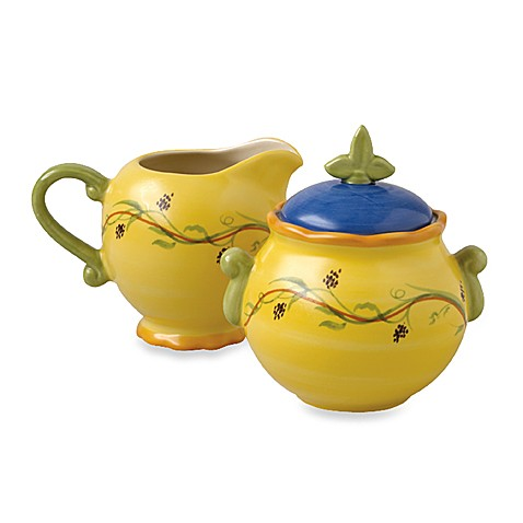 Pistoulet Sugar and Creamer Set