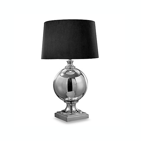Ambience 27-Inch Mercury Silver Table Lamp