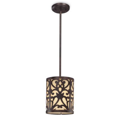 Minka Lavery Mini Iron Pendant Light