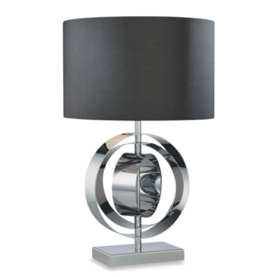 George Kovacs® Chrome Circles Table Lamp