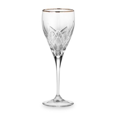 Marquis® by Waterford® Caprice Platinum Crystal 8-Ounce White Wine Glass