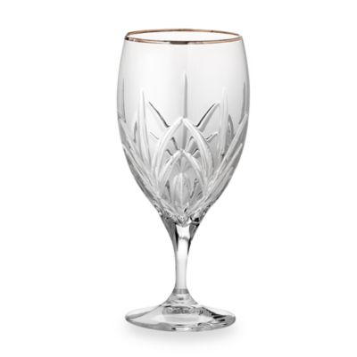 Marquis® by Waterford® Caprice Platinum Crystal 12-Ounce Iced Beverage Glass