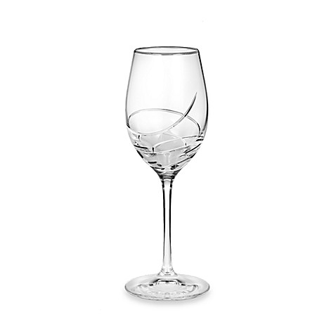 Waterford® Ballet Ribbon Essence Platinum 14-ounce White Wine Glass