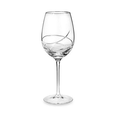 Waterford® Ballet Ribbon Essence Platinum 19-ounce Red Wine Goblet