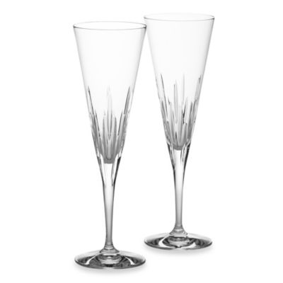 Vera Wang Wedgwood® Duchesse 7-Ounce Crystal Toasting Flutes Pair (Set of 2)