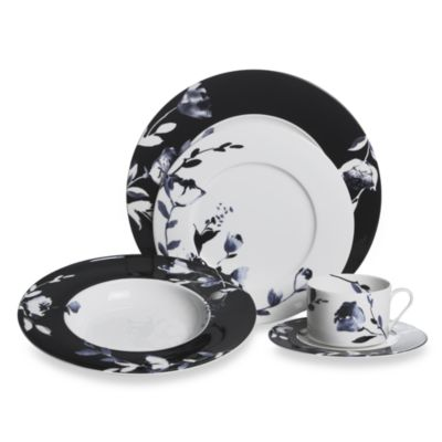 Mikasa® Midnight Bloom 5-Piece Place Setting