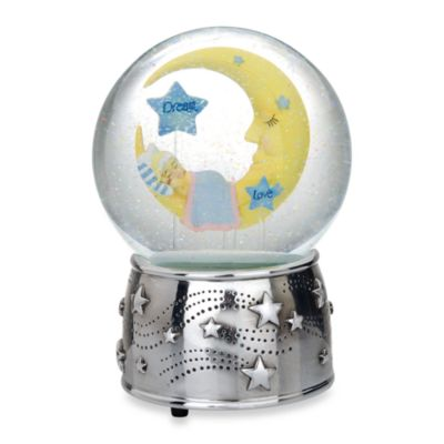 Silver Water Globe