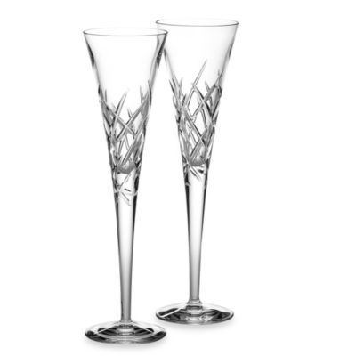 Vera Wang Wedgwood® Duchesse Encore 7oz Crystal Toasting Flutes (Set of 2)